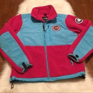 Rare North Face Trans Antarctic Denali Fleece Pink